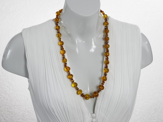 Medium length Amber necklace