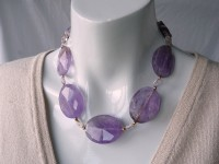 Short ametrine necklace
