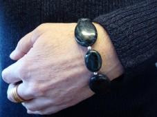 Dumortietite bracelet