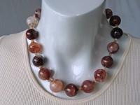 Hematoid quartz necklace