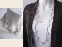 Solar quartz necklace