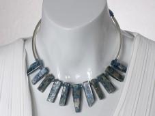 Blue Kyanite choker