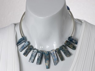 Blue Kyanite choker