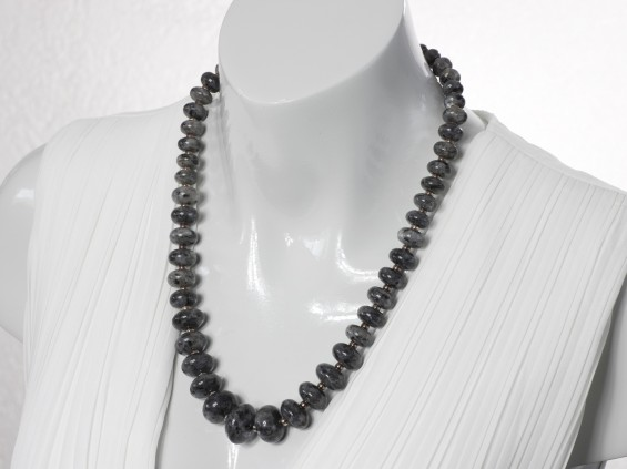 Larvikite necklace