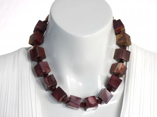 Mookaite jasper necklace