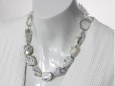 Dendrite opal collier