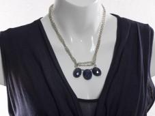 Fancy sapphire necklace