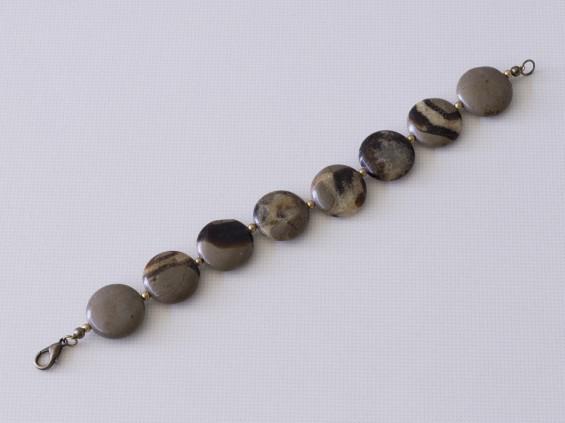 Septarian bracelet