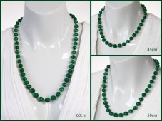 Emerald necklace (choose length)