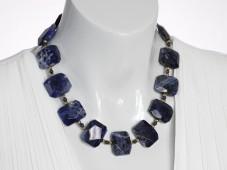 Blue sodalite necklace